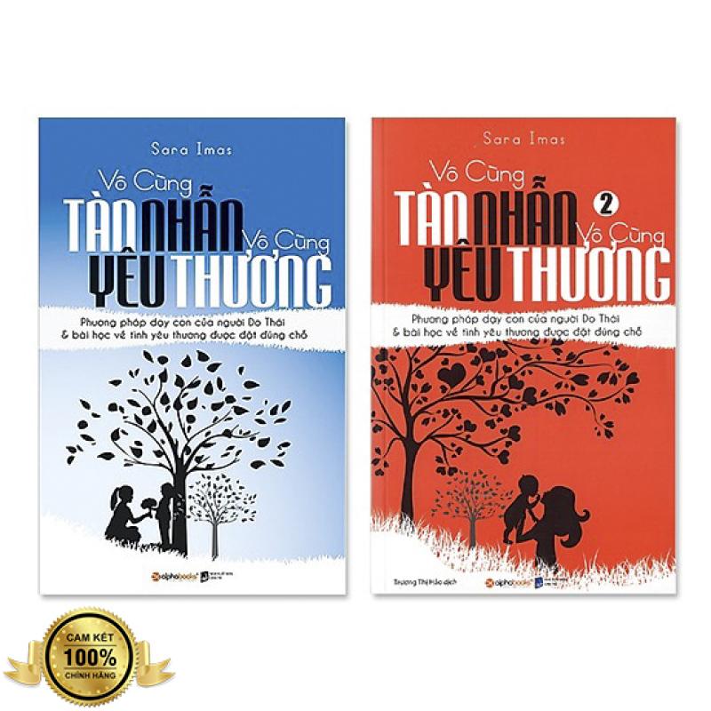 Combo 2 Cuốn : Vô Cùng Tàn Nhẫn Vô Cùng Yêu Thương (Tập 1 và 2) + Tặng Bookmark