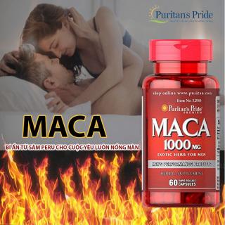 Viên uống tăng cường sinh lực Puritan s Pride Primium Maca Exotic Herb For Men 500mg 60 viên thumbnail