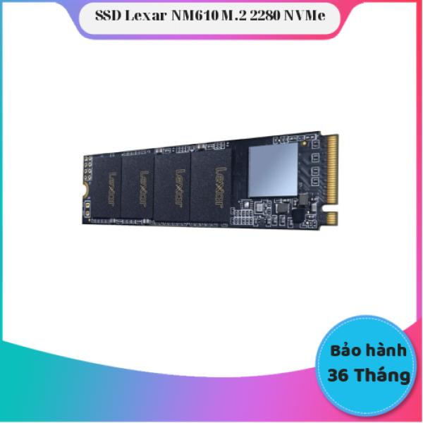 Giá Ổ Cứng SSD Lexar NM610 500GB M.2 2280 NVMe - Chính Hãng Lexar - Bảo Hành 3 năm (1 đổi 1)