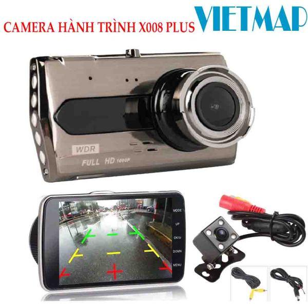 (HÀNG CHÍNH HÃNG) Camera Hành Trình Chính Hãng Wintosee V3 X008 (trước + sau),màn hình 4 inch-Lưu trữ video tối đa 45 ngày qua thẻ nhớ MicroSD- Xem lại Video đã ghi hình qua điện thoại( bảo hành 12 tháng )