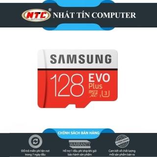 Thẻ nhớ MicroSDXC Samsung EVO Plus 128GB U3 4K 100MB s - Không Box (Đỏ) - Nhất Tín Computer thumbnail