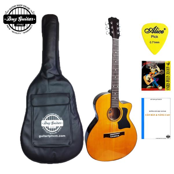 [Có video] Đàn guitar acoustic DT70 có 3 màu tùy chọn ghita đệm hát có âm thanh vang tốt - Duy Guitar Store - Shop đàn ghita giá rẻ dành cho bạn mới tập