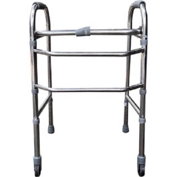 Khung tập đi có bánh xe hỗ trợ người già Việt Nam cao cấp