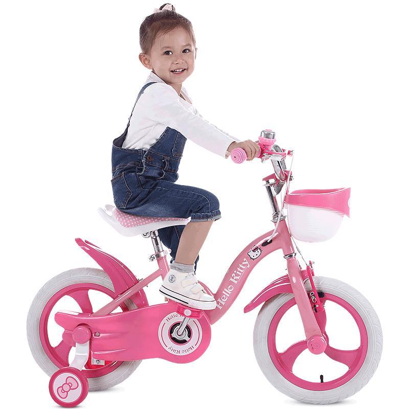 Mua Xe đạp cao cấp cho bé gái 5-7 tuổi - Size 16 inch
