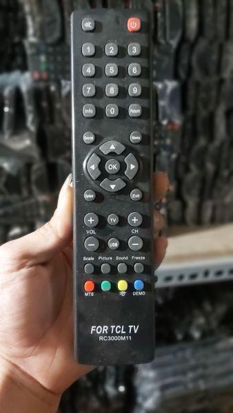 Bảng giá điều khiển tivi TCL lcd
