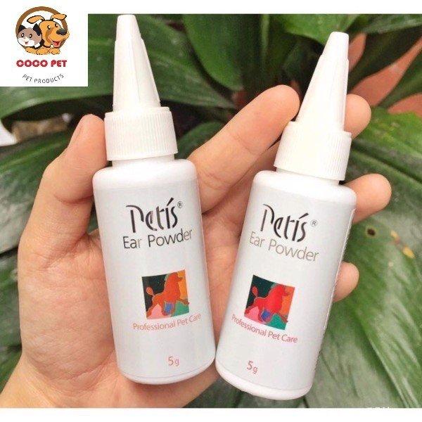 Bột Nhổ Lông Tai Cho Chó Mèo Petis Ear Powder 5g
