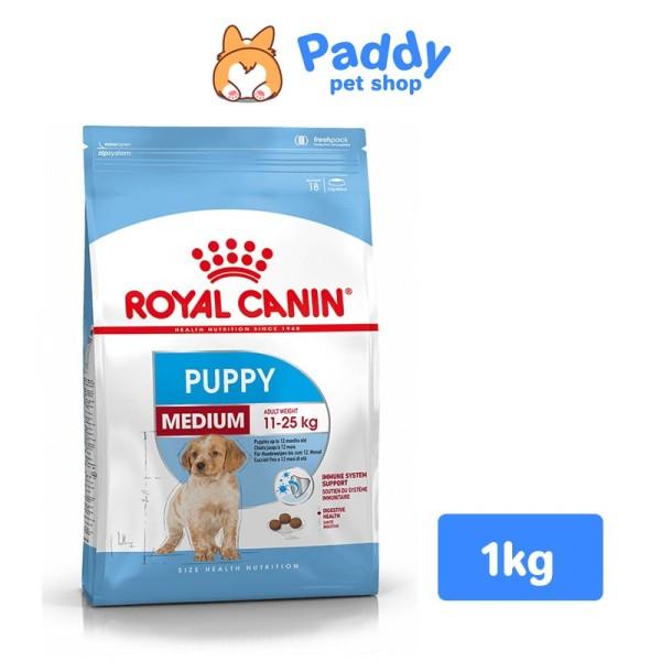 [1kg] Hạt Royal Canin Medium Puppy Cho Chó Con Size Vừa