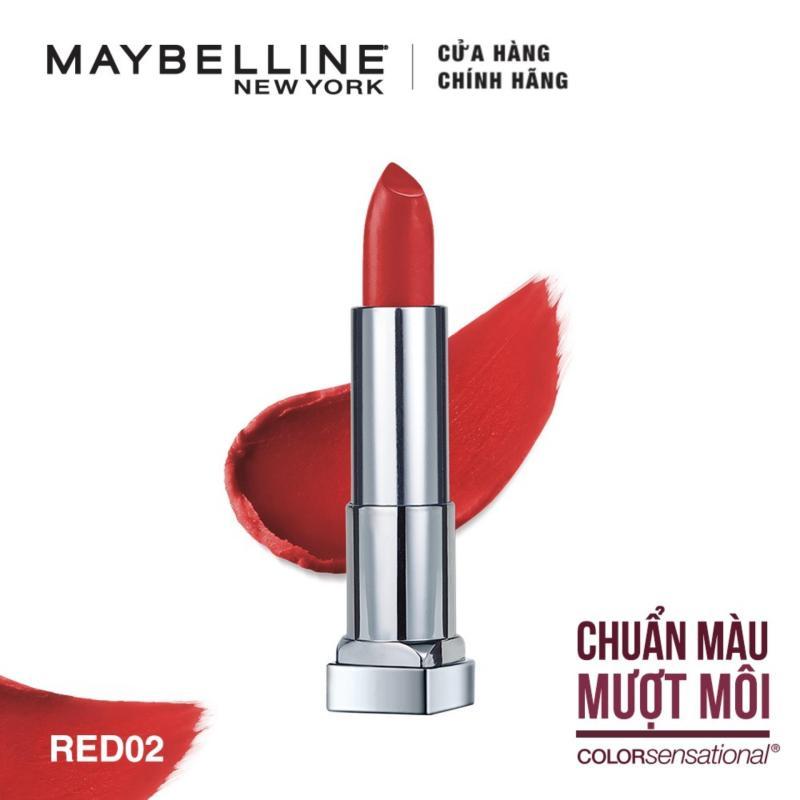 Son lì siêu nhẹ môi Maybelline New York Color Sensational Powder Matte 3.9g cao cấp