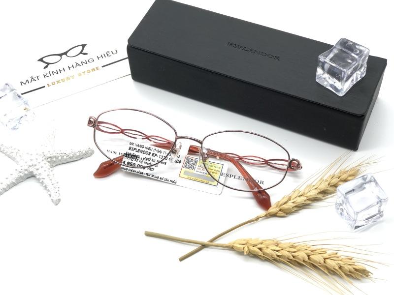 Giá bán Gọng kính cận thời trang chính hãng ESPLENDOR EP1370