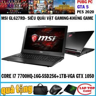 MSI GL62M 7RD khủng long game Core i7-7700HQ, Core i5 7300HQ,ram 16g, ssd 256g+ hdd 1tb, VGA GTX 1050M 15.6 inch Full HD 1920 1080, dòng gaming chuyên game đồ họa thumbnail