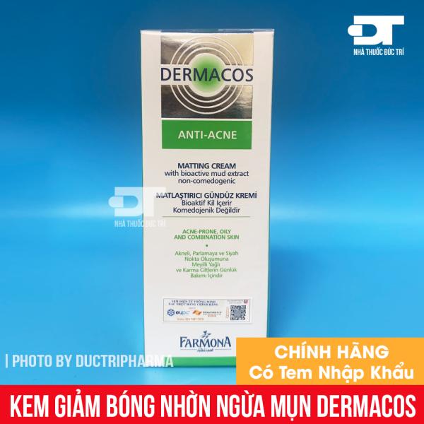 Kem giảm bóng nhờn ngừa mụn farmona dermacos anti acne matting cream 50ml - kem kháng khuẩn ngừa mụn, cam kết hàng đúng mô tả, chất lượng đảm bảo an toàn đến sức khỏe người sử dụng