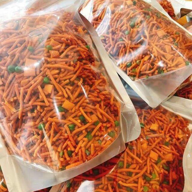 Bim Bim đậu Hà Lan-món ăn Vặt, 500gr Bim Bim Que ăn Là Ghiền ( MUA 1KG TẶNG NGẪU NHIÊN 100GR BÁNH CAY ) Bất Ngờ Ưu Đãi Giá