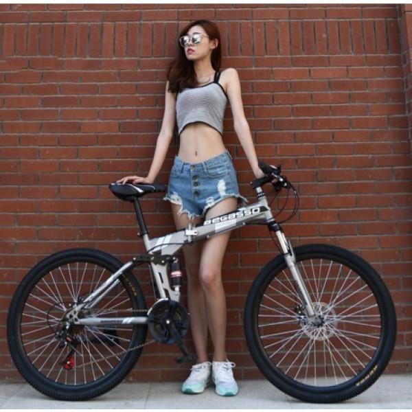 Phân phối Xe đạp thể thao gấp gọn Begasso trẻ trung cá tính , Xe đạp địa hình, Xe đạp leo núi cho nhiều lưa tuổi, xe đạp trẻ em