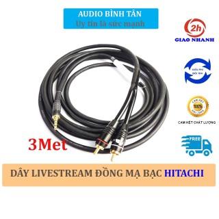 [HCM]Dây livestream thu âm cao cấp chống nhiễu (bản nâng cấp IC tụ trở chống chạm ù rè) Livestream cho Mixer F4 F7 vang số vang cơ ... thumbnail