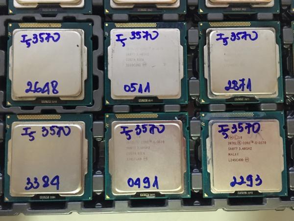 Giá Cpu -Bộ Vi Xử Lý I5-3570 Chạy Main H61-B75 SK 1155 - BẮC HẢI PC SHOP
