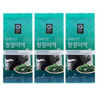 [Combo 3 gói] Rong biển nấu canh Hàn Quốc Daesang gói 25g sản phẩm tốt chất lượng cao đảm bảo an toàn cho sức khỏe người sử dụng cam kết như hình