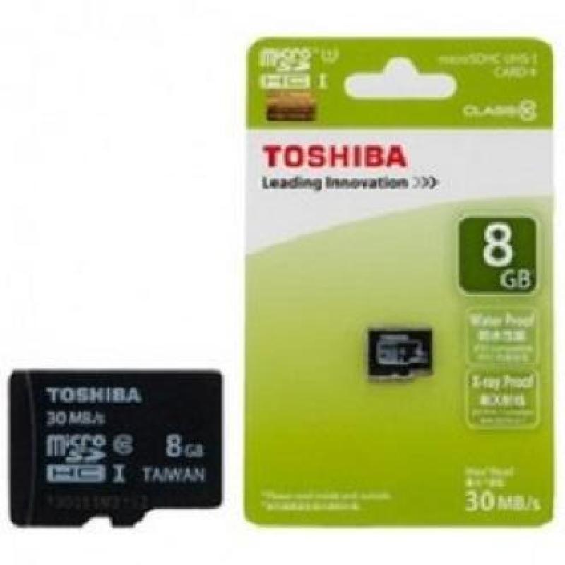 Thẻ nhớ Toshiba MicroSD 8GB Class 10