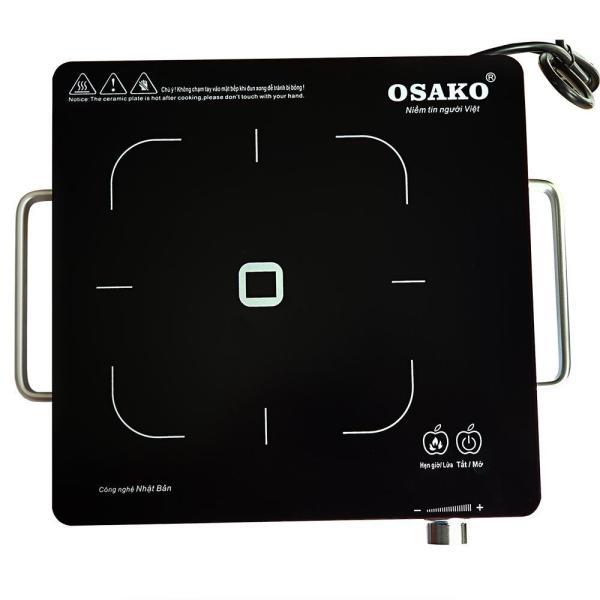 Bảng giá Bếp hồng ngoại  OSAKO OHA-1820 công suất 2000W mặt kính Ceramic, khung thép không gỉ Điện máy Pico