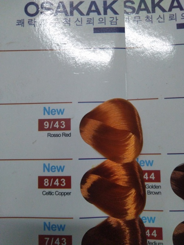 Thuốc nhuộm tóc osakak 100g + kèm oxy giá rẻ