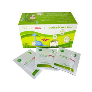 Muối rửa mũi Dr.Green Kids, hộp 30 gói, vệ sinh mũi cho bé, bị xoang mũi thumbnail
