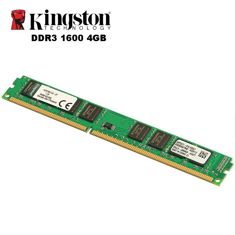 Ram PC Kingston DDR3 4GB bus 1600
