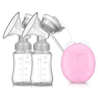 Máy hút sữa mini cầm tay hai bên Máy hút sữa mẹ sau sinh hoàn toàn tự động lấy sữa và hút sữa chính hãng chạy êm không ồn MAYMATXABENBO thumbnail