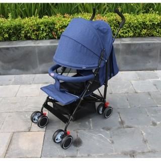 [Giá Siêu Rẻ] Xe đẩy em bé du lịch siêu nhẹ Mastela (xanh lam) thumbnail