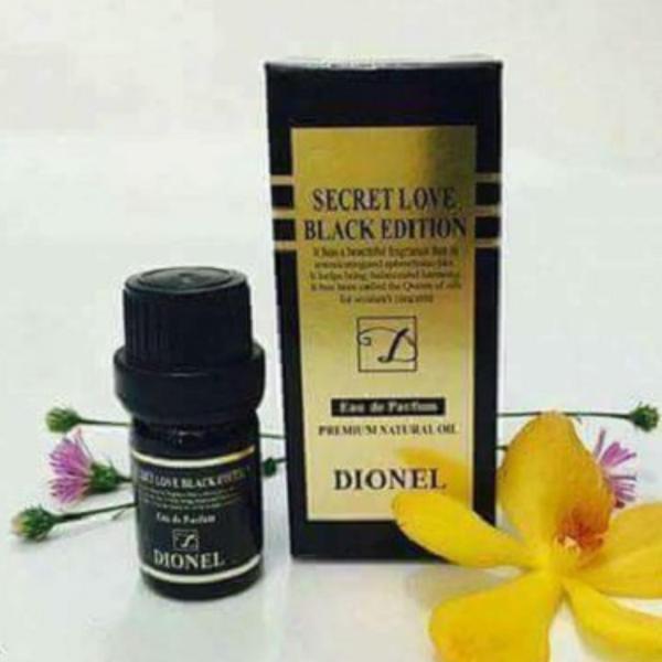 Nước hoa vùng kín Dionel Secret Love Black Edition đến từ Hàn Quốc (5ml)