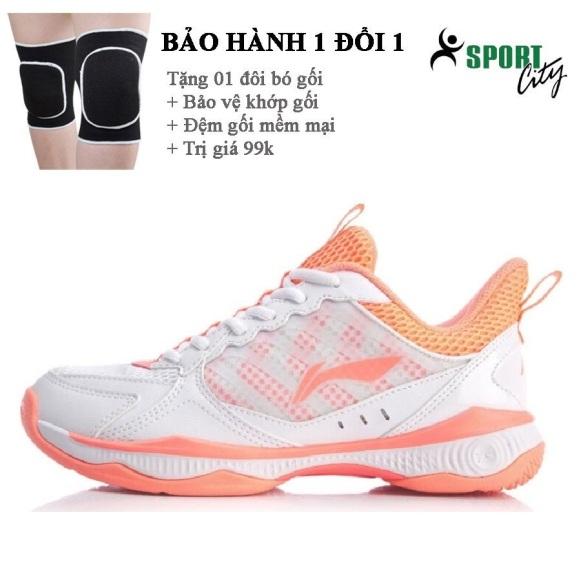 Giày cầu lông nữ Lining AYTQ028-1 mẫu mới giày đế kếp chống trơn trượt,chơi được sân bê tông-giày thể thao nam nữ-giày cầu lông cao cấp giá rẻ