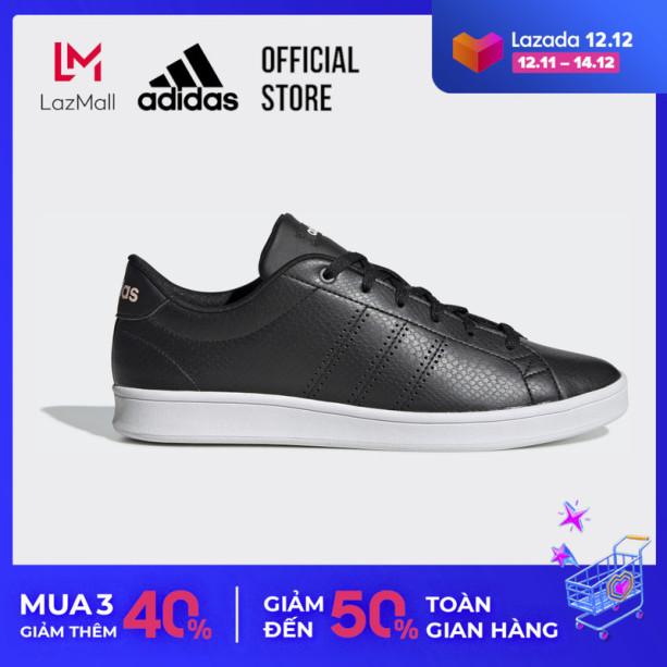 adidas TENNIS Giày Advantage Clean QT Nữ Màu đen F34709 giá rẻ