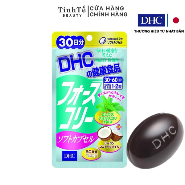 Viên uống Giảm cân bổ sung Dầu dừa DHC FORSKOHLII 60 viên (30 ngày) cao cấp