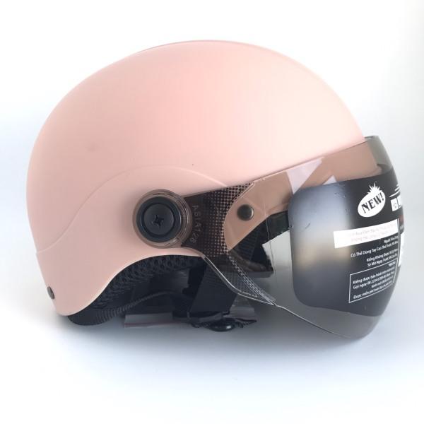Giá bán Mũ bảo hiểm nửa đầu cao cấp - Dành cho người đầu nhỏ hoặc trẻ em trung học - Asia MT128K - Vòng đầu 54-56cm