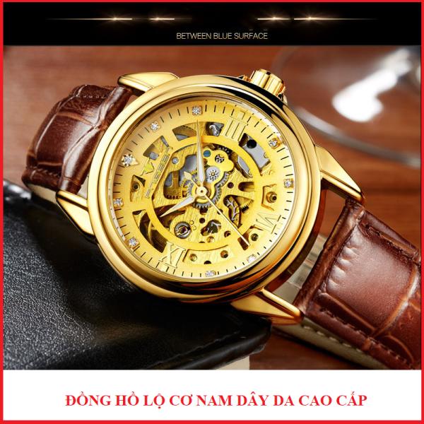 Đồng hồ cơ nam lộ máy FNGEEN sang trọng, lịch lãm, đồng hồ doanh nhân bán chạy