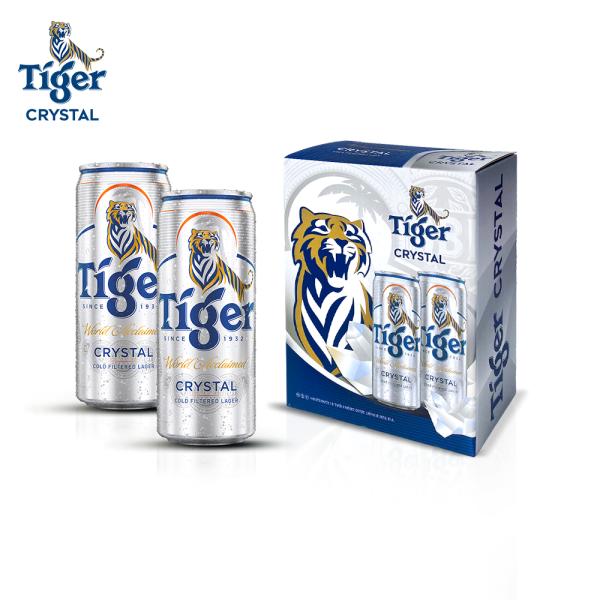 [ HÀNG TẶNG KHÔNG BÁN] Lốc 2 lon bia Tiger Crystal 330ml
