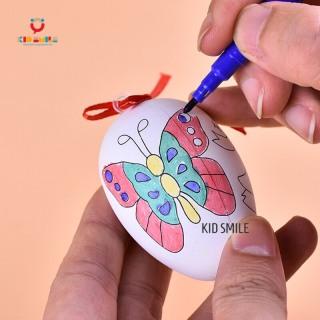 Đồ chơi vẽ và tô màu trứng kèm 4 bút dạ cho trẻ em từ 3 tuổi trở lên sáng tạo và phát triển năng khiếu mỹ thuật thumbnail