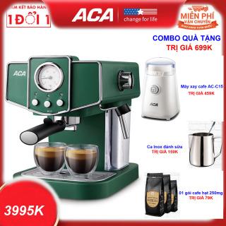 Quà Tặng Đặc Biệt Trị Giá 699K - Máy pha cafe bán tự động AC-E12K Máy pha cà phê sữa Cappuccino Máy pha cà phê Ý kiểu dáng Retro - Hướng Dẫn Sử Dụng Máy pha cà phê Espresso ACA AC-E12K AC-ES12A bán tự động 15-20 Bar dành cho gia đình thumbnail