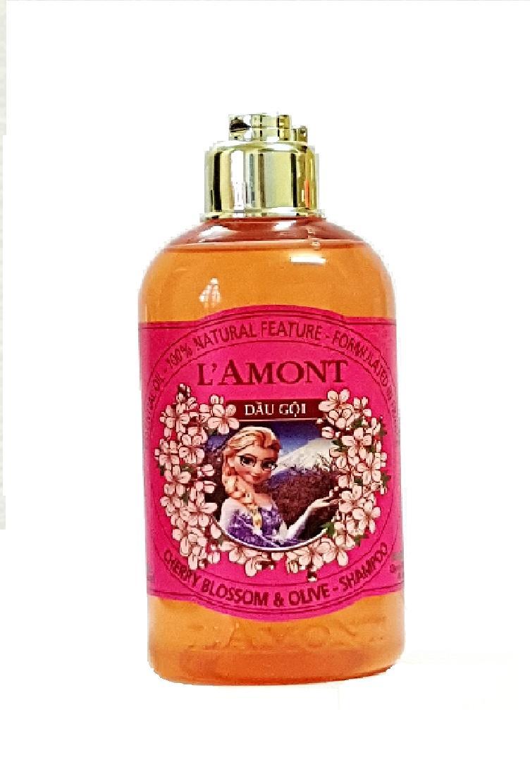 Dầu Gội Cho Bé Lamont En Provence Baby Cherry Blossom Shampoo Hương Hoa Anh Đào Chai 250ml
