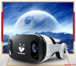 Kính thực tế ảo VR cao cấp Downey - Sói bạc X9 hình ảnh sống động (Nổi tiếng Toàn cầu) + Có Tay Điều Khiển chơi games xem phim 3D thumbnail