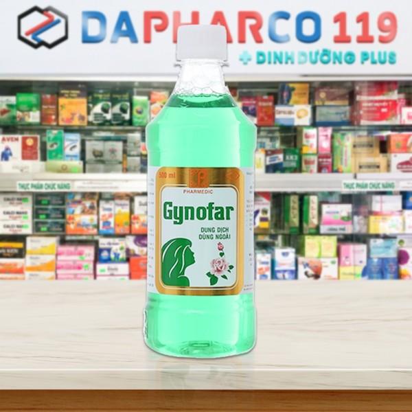 Dung dịch vệ sinh phụ nữ Gynofar 250ml 500ml Gynos 500ml DINHDUONGPLUS DD100 giá rẻ