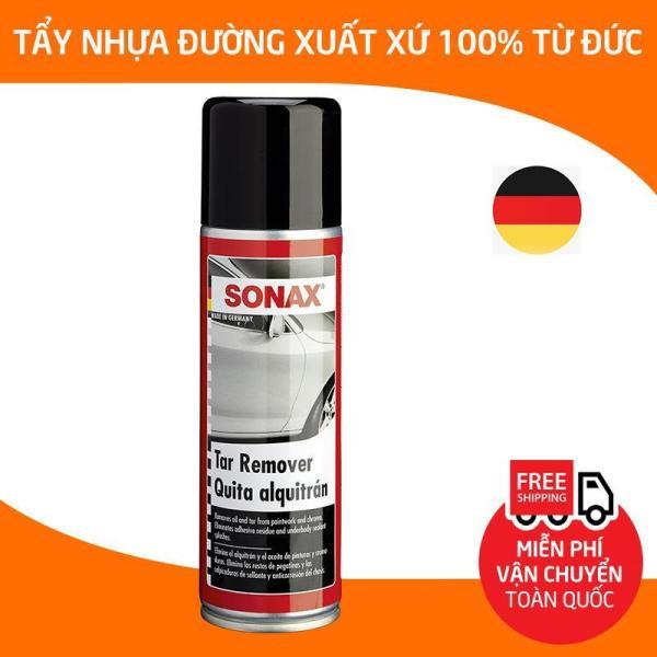 Sonax Tar Remover ,Chai xịt tẩy rửa nhựa đường, làm sạch keo dính decal , bình phun loại bỏ dầu nhựa đường bám trên xe hơi, ô tô, xe tải, xe khách_SN-334200