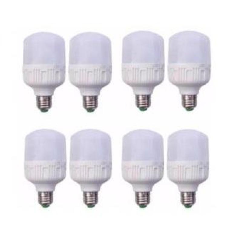 Bộ 8 bóng đèn LED Trụ 30W (Ánh sáng trắng)