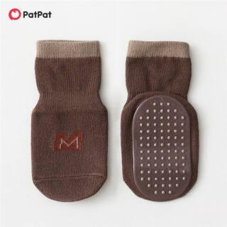 PatPat Tất Dệt Kim Chấm Bi Chữ Cái Cho Em Bé/Trẻ Tập Đi, Chống Trượt Vớ Sàn -Z