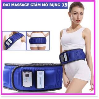 Đai massage bụng X5 Cao Cấp, Đai Masage Giảm Mỡ Bụng, Mát Sa Bụng , Đai Masage Giảm Mỡ Toàn Thân, là sự kết hợp của công nghệ cao và các nguyên tắc của việc giảm cân. Giúp bạn lấy lại vóc dáng thon gọn chỉ trong 1 tháng thumbnail