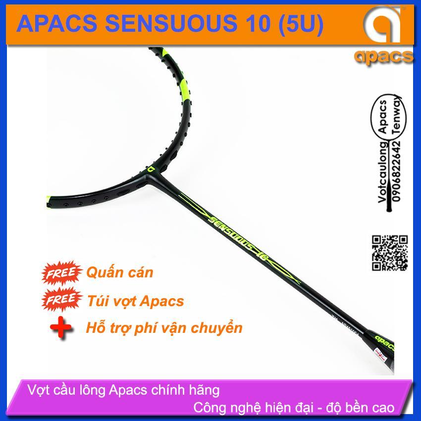 Bảng giá Vợt cầu lông Apacs Sensuous 10 (5U) | Nước sơn nhám mạnh mẽ không chỉ ở hình thức