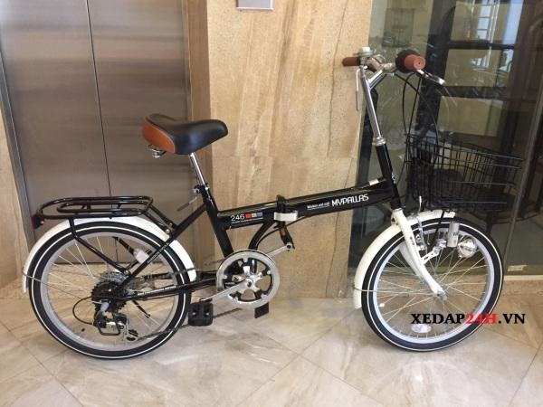 Mua Xe đạp gấp Nhật Mypallas M246 new hàng nội địa cực bền