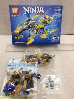 Lego lắp ghép SIÊU NINJA RỒNG (ninja master) model 68088D, 135 chi tiết thumbnail