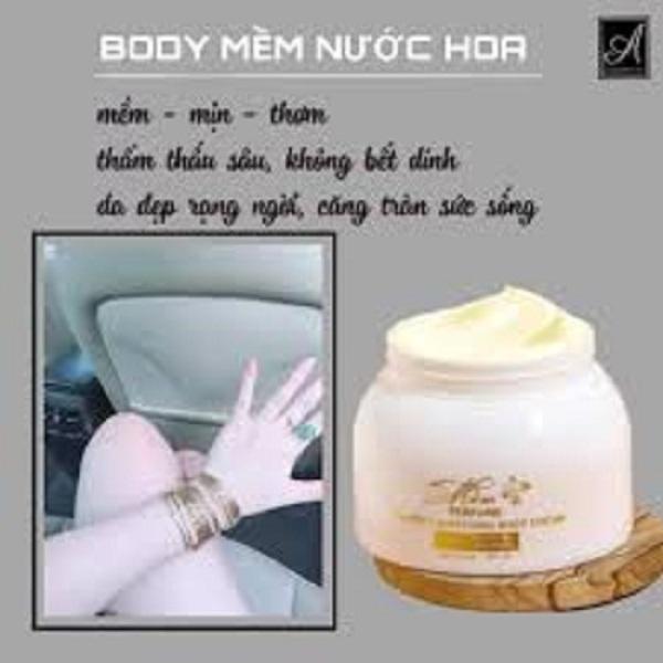 [HCM]kem body Mềm A Cosmetics mẫu mới hương nước hoa kem dưỡng trắng da a mềm giúp da trắng sáng mềm mịn