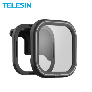 TELESIN Polarizer CPL Filter Lens Protector Magnetic Filter With Mount for GoPro Hero 8 Black Action Camera Lens Accessoreis thumbnail