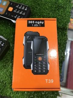Điện thoại kiêm sạc dự phòng KINGREAT T39 thumbnail