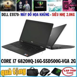 [Trả góp 0%]Dell Latitude E5570 - ĐỒ HỌA SIÊU NHẸ CORE I7 6820HQ RAM 16G SSD 256G+hdd 500g VGA AMD R7 M370 2GB MÀN 15.6 FHD NẶNG 2 KG thumbnail